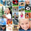Zdjęcia na płótnie, fototapety, obrazy : collage sports