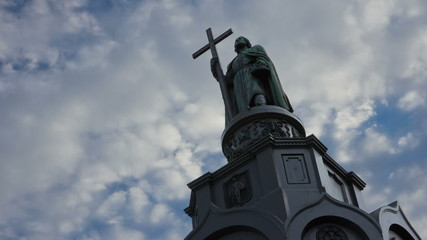 The monument to St. Vladimir. Kiev. Ukraine.