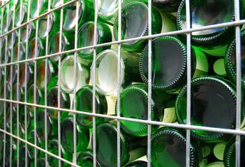 Weinflaschen Lager