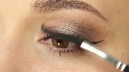 Makeup for eyes: mascara
