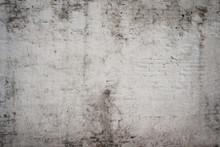 Blanc gris vieille rue de ciment cru rouillé grunge vieilli rugueux