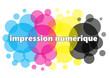 Постер, плакат: Logo impression cmjn