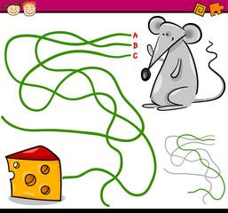 path or maze cartoon game