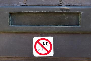 No Pub