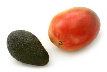 Mango und Avocado