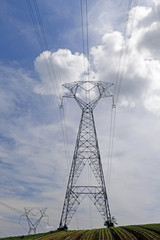 eletric transmission tower