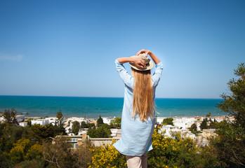 Young woman in Tunisia