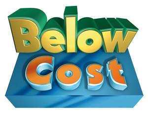 Below cost
