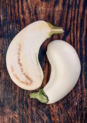 2 White squash