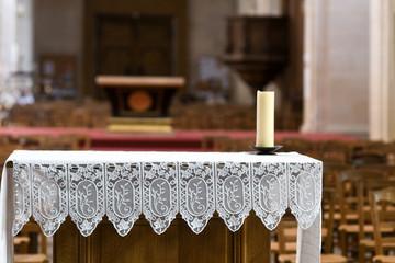 autel d'église