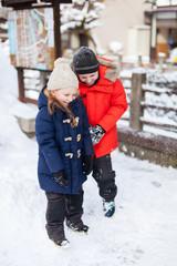 Kids in Takayama town