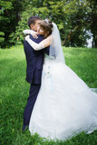 Bride and groom are dancing - 79520738