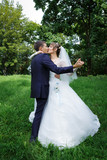 Bride and groom are dancing - 79520773