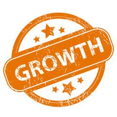 Growth grunge icon