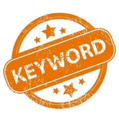 Keyword grunge icon