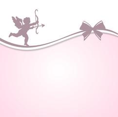 Engel mit Pfeil und Bogen