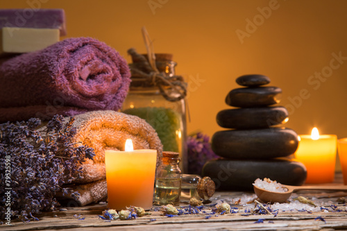 Foto op Canvas Spa Spa still-life.