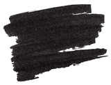 Fototapety Black marker paint texture isolated on white