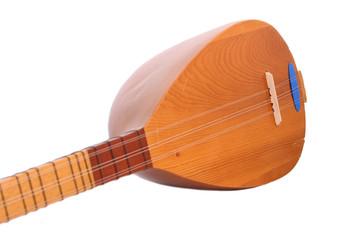 Anatolia Ethnic Music on White Background