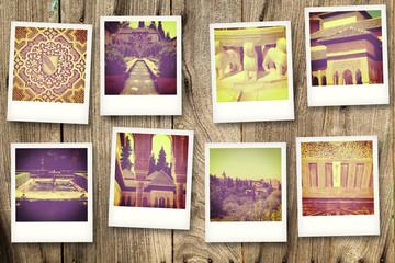 Polaroid Alhambra
