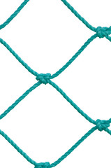 Soccer Football Goal Post Set Net Rope New Green Goalnet