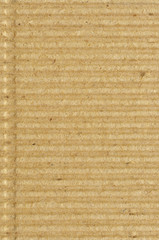 Corrugated cardboard goffer paper texture rough old vertical