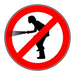 warnschild achtung einbrecher IV
