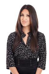 Mixed Race Businesswoman Portrait