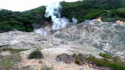 Saint Lucia Sulphur Springs Volcano