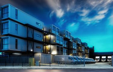 Logistic Center (focus)