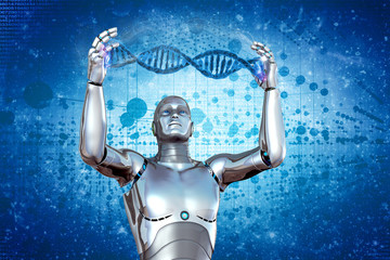 Robot and DNA