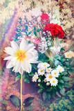 Flower garden in spring series