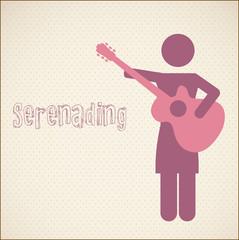Serenading vector