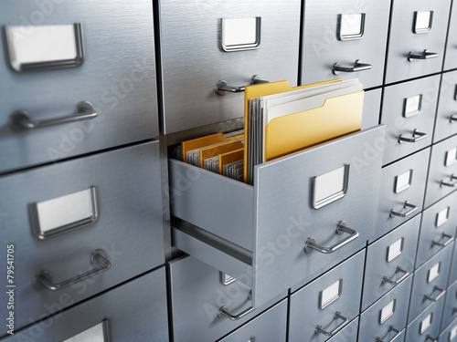 Filing cabinet - 79541705
