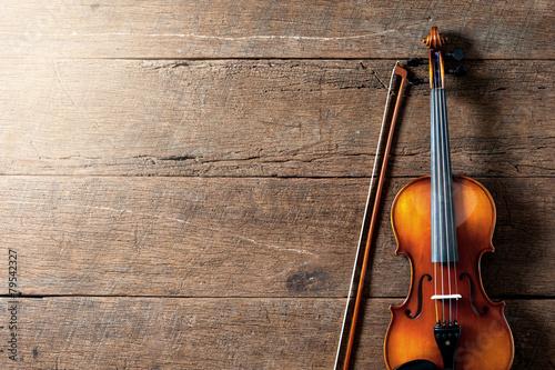 Fotobehang Muziekwinkel Violin
