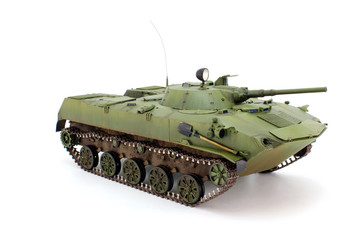 Model airborne combat vehicle