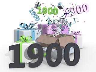 Feest voor de negentienhonderdste
