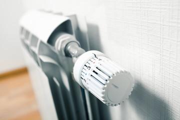 temperature knob of heating radiator