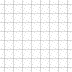 Seamless puzzle texture. Puzzle template
