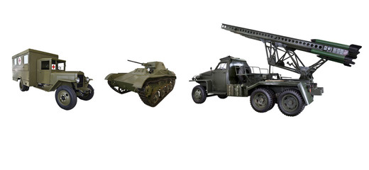 Military equipment of the red Army