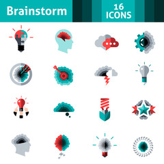 Brainstorm Icons Set