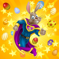 Easter Bunny Superhero