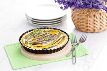 vegetable tart