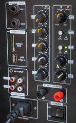 Sound control button