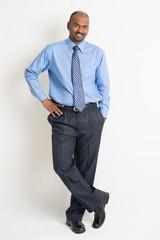 Confident Indian businessman