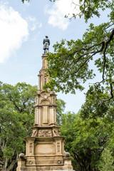 Stone Statue in Public Park