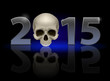 2015 with skull