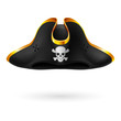Pirate cocked hat - 79550197