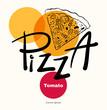 Pizza design menu template