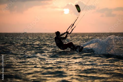 Fototapeta Kitesurfing